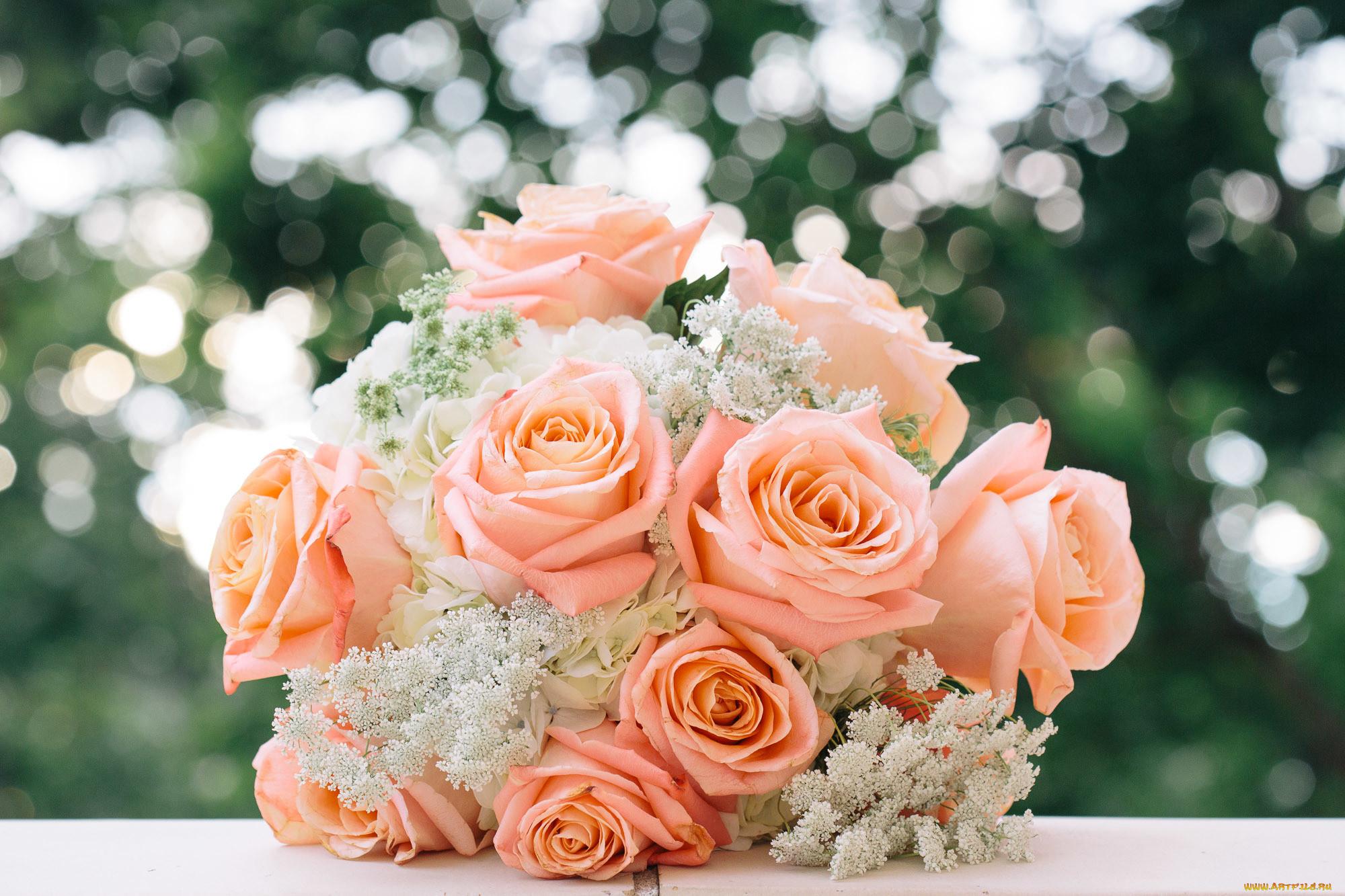 картинки с цветами в день свадьбы бродить